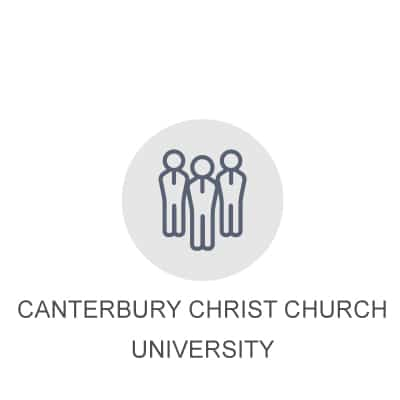 Client testimonial icon for Canterbury Christ Church University